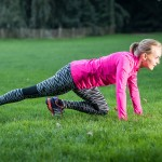 training HIIT tabata outdoor